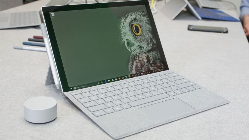 Microsoft Surface Pro 2017 – performanta laptop-ului