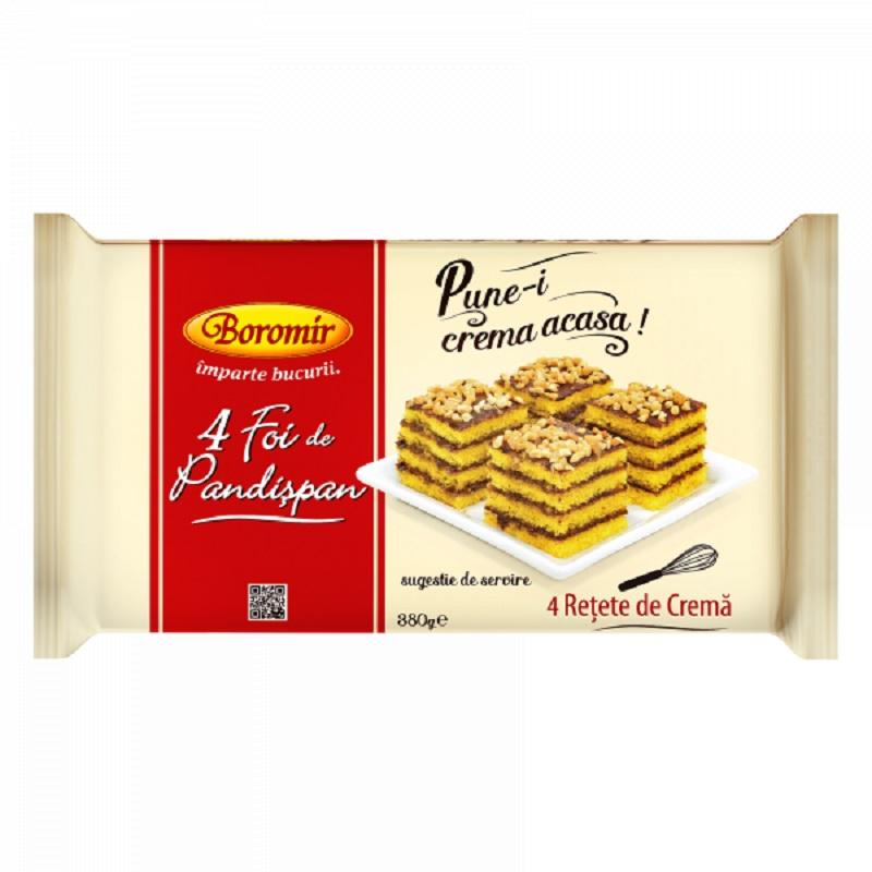 Foi de pandișpan de la Boromir pentru prăjituri delicioase