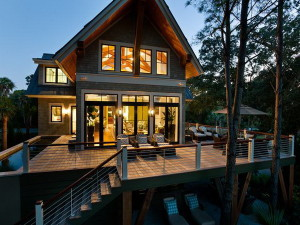 How to take care of a wooden house?