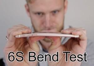 iPhone 6s Plus a supravietuit cu succes primului test al rezistentei la indoire
