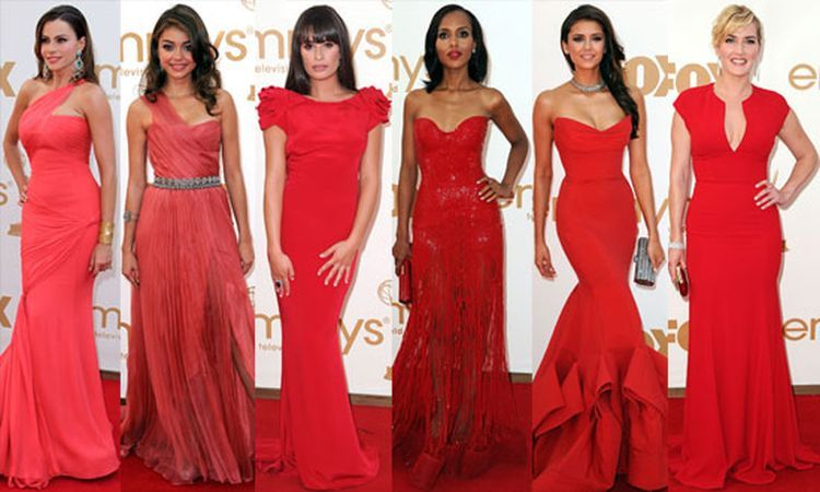 Cum se poarta corect o rochie rosie?