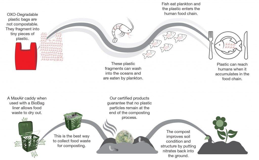 De ce plasticul biodegradabil este bun pentru mediul inconjurator?